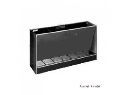 Automatické krmítko, samokrmítko pro prasata Domino F 900/3 H