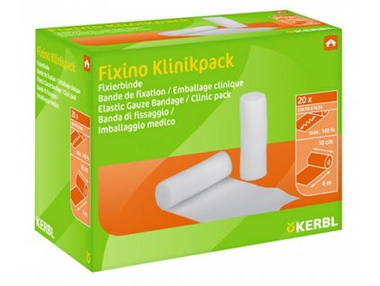 Obvaz fixační Fixino - elastická bandáž, 10 cm, 20 ks