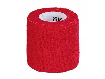 Obvaz samolepící EquiLastic, 5 cm, červený