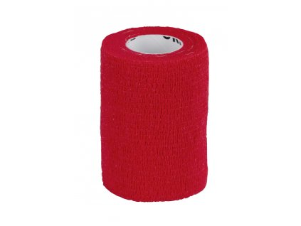 Obvaz samolepící EquiLastic, 7,5 cm, červený