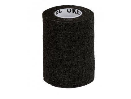 Obvaz samolepící EquiLastic, 7,5 cm, černý