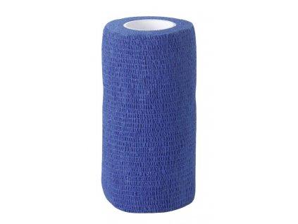 Obvaz samolepící EquiLastic, 10 cm, modrý