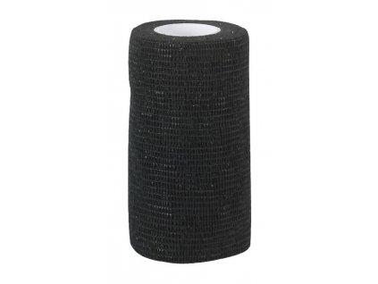 Obvaz samolepící EquiLastic, 10 cm, černý