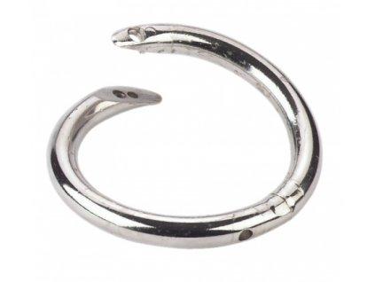 Kroužek nosní 65 mm, otočný, nerezový