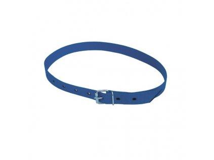 Řemen krční pro značení skotu s přezkou, modrý, 120 cm