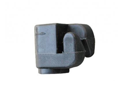 Izolátor hřebíkový pro elektrický ohradník, hákový