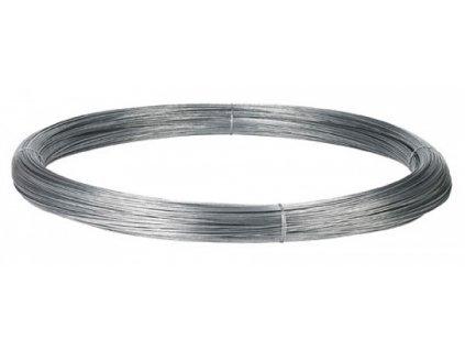 Speciálně galvanizovaný  Zn/Al drát na elektrické ohradníky, 2mm, 1000 m