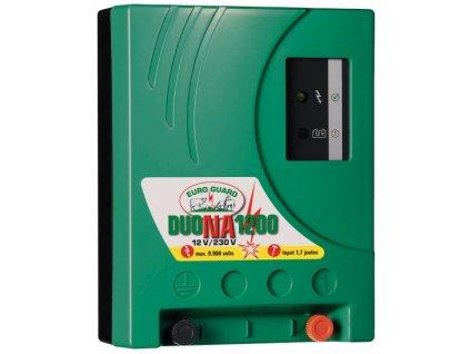 Zdroj Euro Guard DUO NA 1200 pro elektrický ohradník