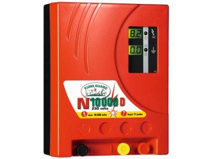 Zdroj Euro Guard N 10000 D,  pro elektrický ohradník Digitální