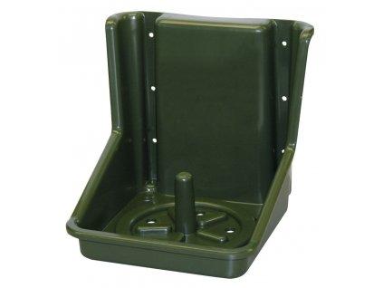 Držák na liz hranatý, 18,5 x 19 cm, zelený