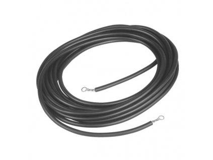 Kabel propojovací pro el. ohradníky - zdroj/zemnící tyč, 8 m