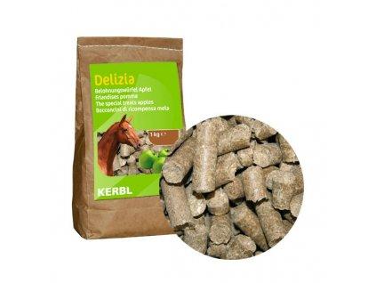 Pamlsek pro koně DELIZIA, jablko, 1 kg