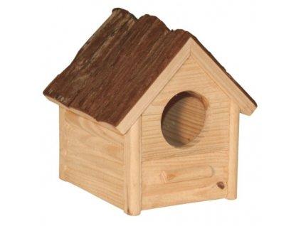 Domek pro křečky a malé hlodavce, 14 x 12 x 13 cm