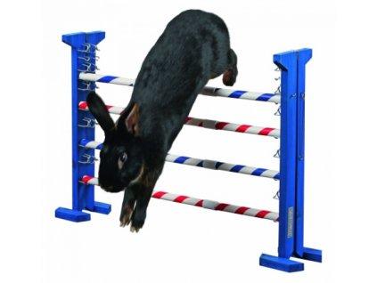 Agility vysoká překážka pro králíky a jiné hlodavce - králičí hop
