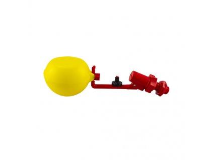 4204 04 Valvola galleggiante filettata 12 con doppio iniettore