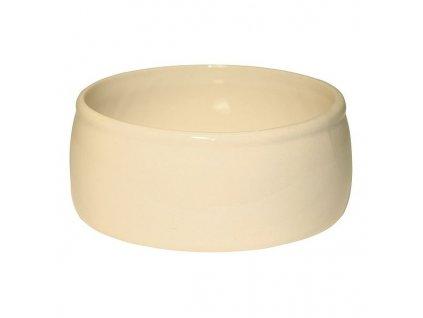 Miska na krmivo kameninová, 750 ml