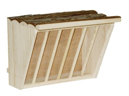Jesle na seno XL, dřevěné, 28 x 20,5 x 22 cm