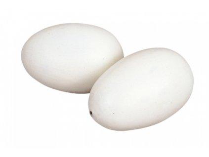 Vejce sádrové střední, podkladek pro slepice