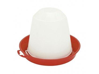 Napáječka pro drůbež plastová klobouková, 10 l