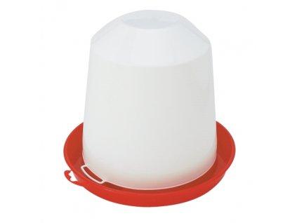 Napáječka pro drůbež plastová klobouková, 5 l