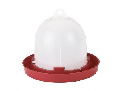 Napáječka pro drůbež plastová klobouková, 5,5 l, bajonet