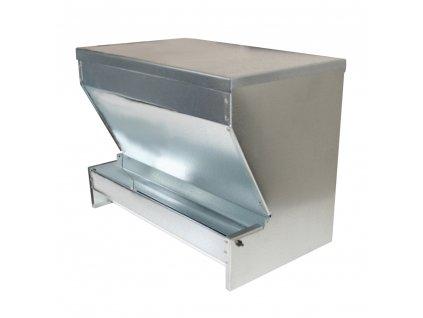 Automat krmný pro drůbež se zásobníkem, pozink, 40 cm