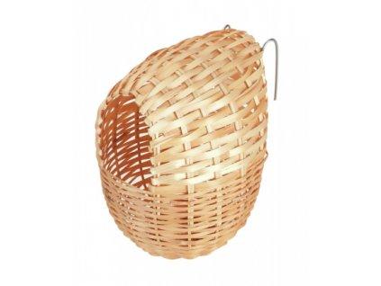 Hnízdo bambusové pro papoušky, 12 x 11 cm