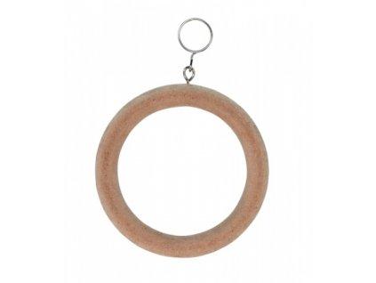 Houpačka pro ptáky dřevěný kruh