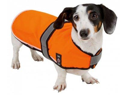 Vesta pro psy Maxi Safe, reflexní, svítící s LED, vel. S