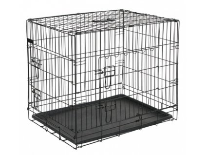Přepravní box, klec do auta pro psy, 76x54x64cm, 2 dveře