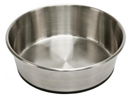 Miska pro psa, nerezová, 425 ml, protiskluzná