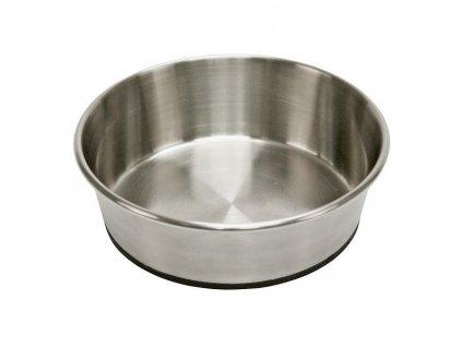 Miska pro psa, nerezová, 2800 ml, protiskluzná