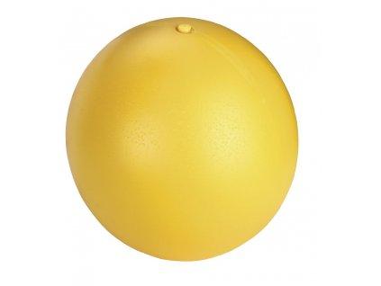 Hračka pro psy - balón plastový plovoucí, 30 cm, žlutý