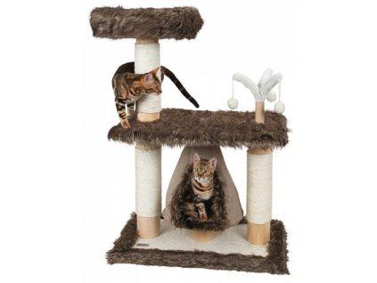 Škrabadlo pro kočky ZAMUNDA JADE - škrabadlo a odpočívadlo pro kočky