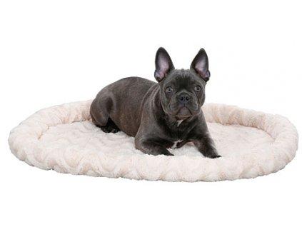Pelíšek pro kočky a psy oboustranný, béžový, 54 x 45 cm