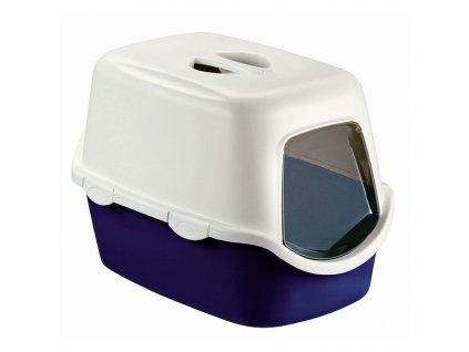 Toaleta pro kočky Cathy Filter, modrá - kočičí WC s filtrem