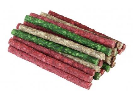 Tyčinka žvýkací - barevný mix 12,5 cm, 25 ks