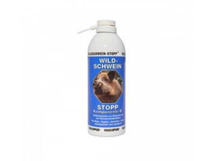 STOP divočákům - Wildschwein-STOPP - Hagopur, pachový ohradník, 400 ml, modrý