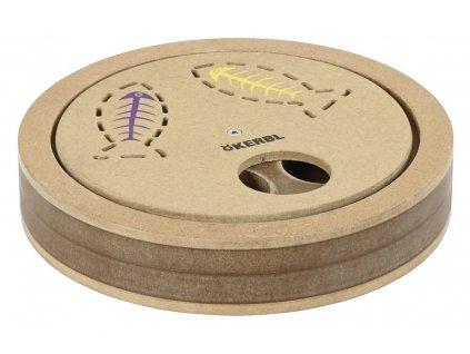 Hračka pro kočky interaktivní - hlavolam 2v1, prům. 20 cm