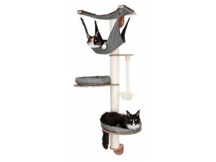 Kočičí strom na zeď DOLOMIT 2.0 - škrabadlo pro kočky, 160 cm