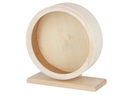 KERBL Kolotoč pro křečky a malé hlodavce dřevěný, 22 cm
