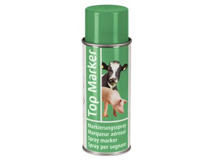 Sprej značkovací TopMarker, 400 ml, zelený
