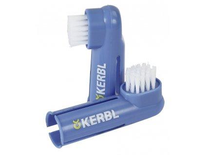 Zubní kartáček PREMIUM CARE pro psy, 2 ks, modrý