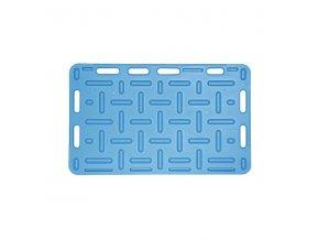 Zábrana dělící a naháněcí, 94 x 76 x 2,5 cm, modrá