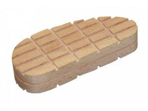 Blok dřevěný na paznehty, 130 mm