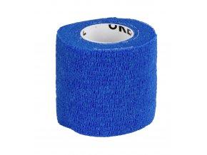 Obvaz samolepící EquiLastic, 5 cm, modrý
