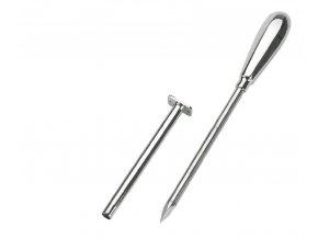 Bachorový trokar, 9 cm, průměr 5 mm