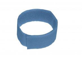 Páska na suchý zip, modrá, 10 ks