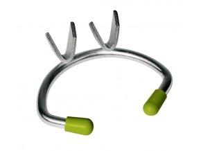 Zábrana mulcová kovová, střední