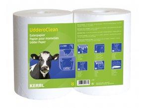 Utěrky na vemeno Uddero Clean, 2 x 800 ks, k použití za mokra i za sucha